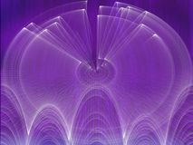 3d backdround紫色 库存图片