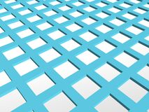 3d background 12. 3d blue white node background Stock Photo