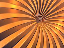 3D background. 3D golden background (see more in portfolio Royalty Free Stock Images