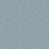 3d background. Seamless pattern of starbursts creating a 3d background (optical illusion Stock Photos