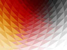3D Background. Wavy, faceted and multicolored 3D background with shining reflections Royalty Free Stock Image
