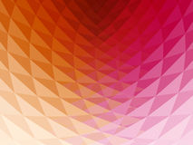 3D Background. Wavy, faceted and multicolored 3D background with shining reflections Royalty Free Stock Photos