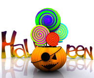 3D background of halloween Royalty Free Stock Photography