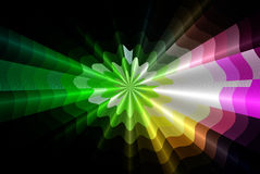 3d background rays Royalty Free Stock Photo