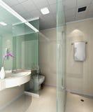 3d badkamers vector illustratie