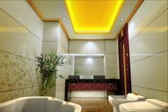 3d badkamers stock illustratie