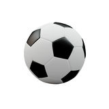 3D Ball. The 3D Normal Foot Ball Royalty Free Stock Photos