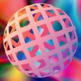 3D ball Royalty Free Stock Photos