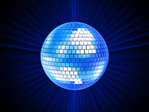 3d ball disco Στοκ φωτογραφία με δικαίωμα ελεύθερης χρήσης