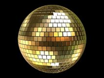 3d ball disco Στοκ Φωτογραφίες