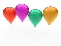 3d ballon colorful Royalty Free Stock Photos