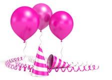 3d ballons błyszczący Zdjęcia Royalty Free