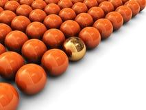 3d balls Royalty Free Stock Image