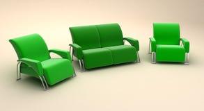 3D bank Stock Afbeeldingen