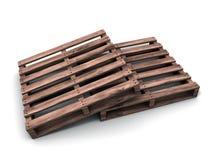 3d barłóg drewniany Obraz Stock
