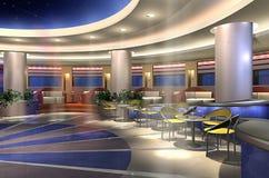 3d bar Στοκ Εικόνα