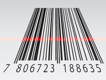 3d barcode. Illustration for the web Stock Photos