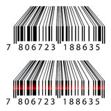 3d barcodes. Illustration for the web Stock Images