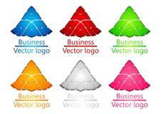 3d barwił loga osłony żółwia royalty ilustracja