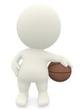 3D Basketball player Royalty Free Stock Photos