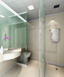3d bathroom Royalty Free Stock Photography