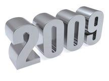 3D beeld van 2009. Stock Foto's