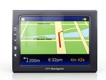 3d beelden: gps-navigator Stock Foto