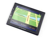 3d beelden: gps-navigator Stock Fotografie