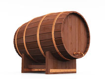 3D beer barrel 15 Royalty Free Stock Image