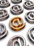 3D BIJ symbolen Royalty-vrije Stock Afbeelding