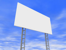 3D billboard Stock Photography
