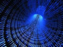 3d binary przepływu ewidencyjny strumień Zdjęcie Stock
