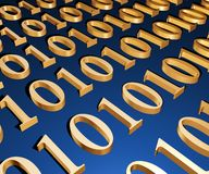3d binary sweep Stock Photos