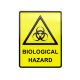3D Bio hazard sign Stock Photo