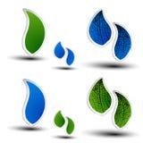 3D bio symbols. Illustration - see also my portfolio Stock Photography