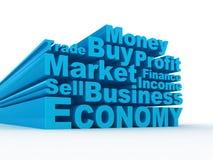 3d biznes etykietki Zdjęcia Stock