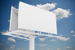 3d blank billboard Royalty Free Stock Images