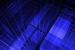 3D blue background Stock Image