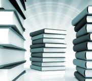 3d boeken massief voor ontwerp Stock Fotografie