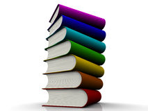 3D book Stock Image