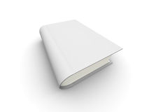 3D book. The big book on a white background Royalty Free Stock Photo