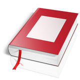 3d book with blank covers. 3d book with blank cover Stock Images
