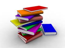 3d Books Stock Images