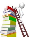 3d books klättringmantrappa vektor illustrationer