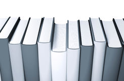 3d books massive for design Royalty Free Stock Photos