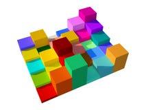 3d box Stock Photos