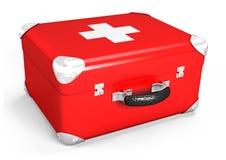 3d box medical Fotografering för Bildbyråer