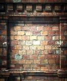 3d brick wall, antique architecture background. 3d brick wall background, antique architecture Stock Photo