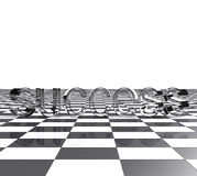 3d brievensucces Royalty-vrije Stock Afbeelding