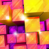 3d bright abstract background Stock Images